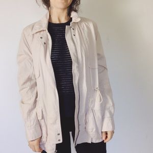 CLUB MONACO Stretch Cotton Lightweight Jacket
